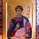 Sf Dimitrie Izvoratorul de Mir (30cm x 40cm)