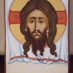Orthodox icon of veil of Christ
