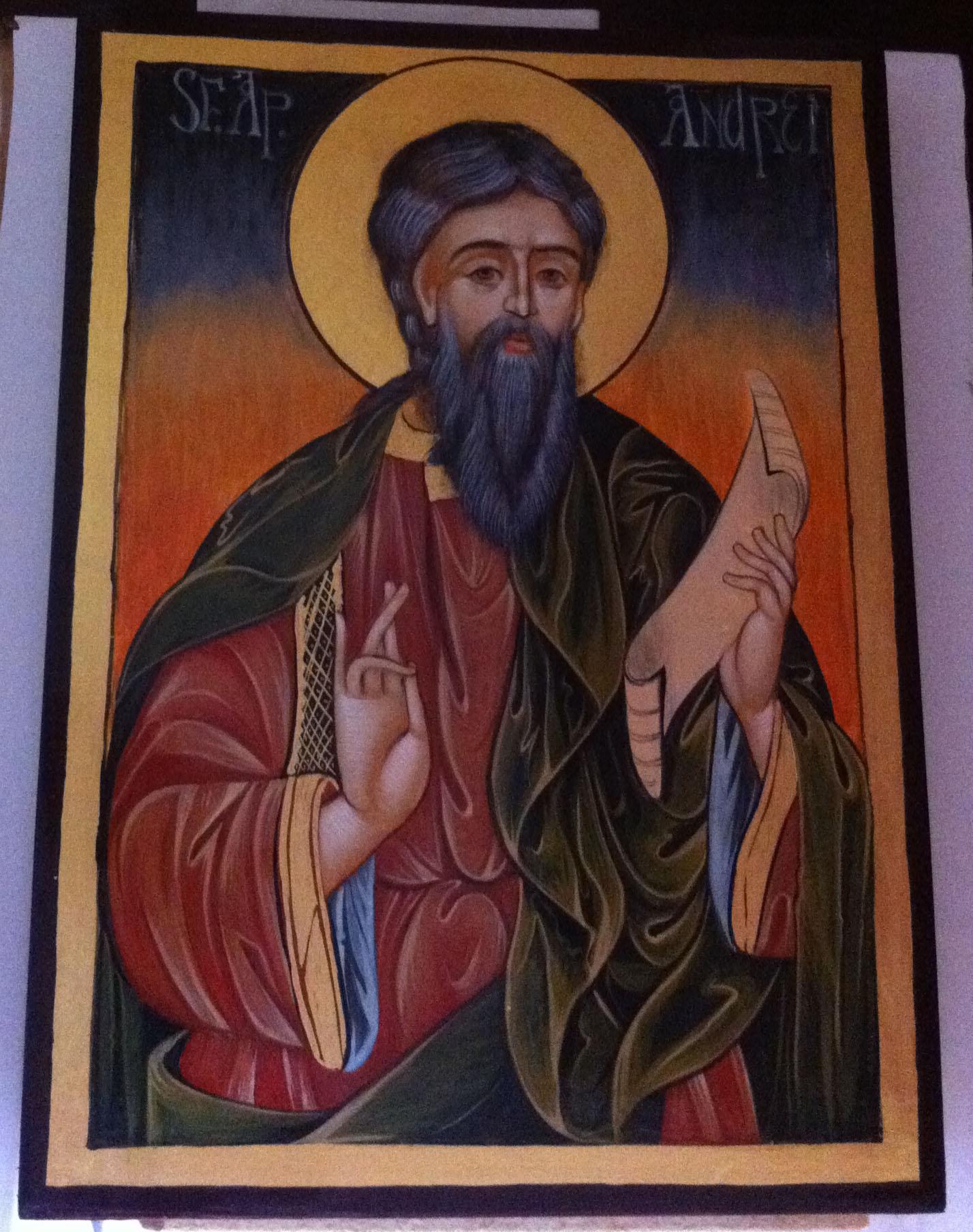 Saint Andrew (Byzantine icon)
