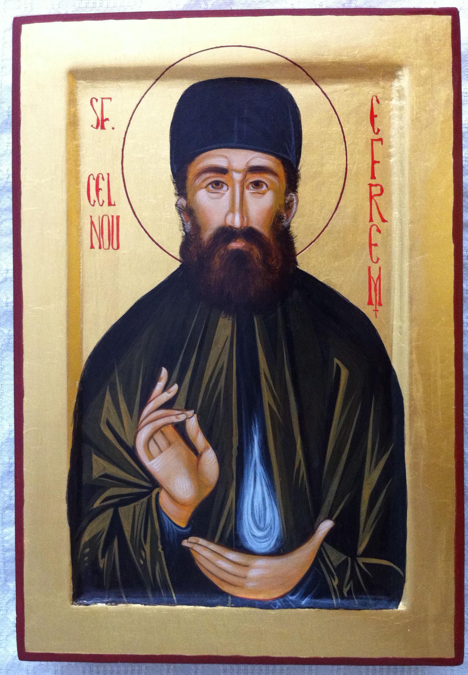 Saint Ephraim the New (Orthodox icon)