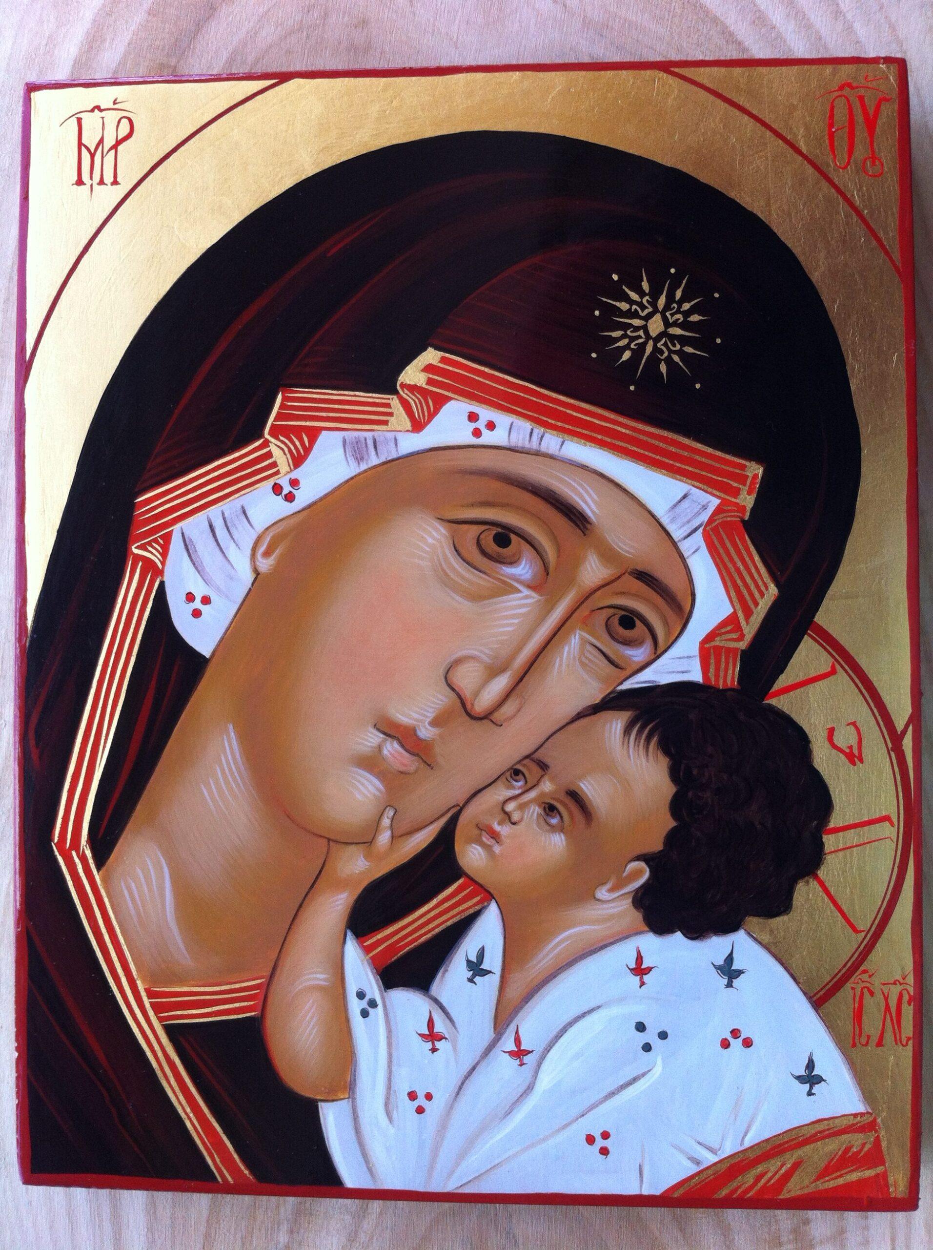 Our Lady of Kasperova (Eleusa) Orthodox icon